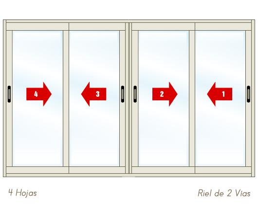 ventana_aluminio_600_corrediza_riel_2_vias_4_hojas
